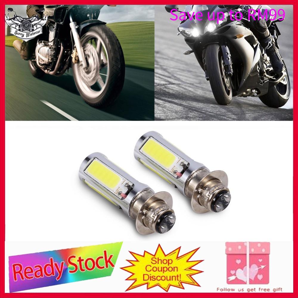 1x H6 BA20D DC 9V-85V 12W COB White LED Motorcycle Hi//Lo Beam Headlight Bulb Hot