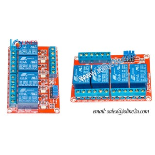 4 Channel 5V Opto isolated Relay Module board terminal H/L