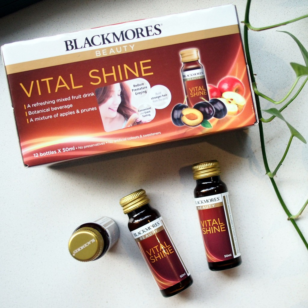 BLACKMORES BEAUTY VITAL SHINE 50ML x 12 bots (SALES +READY STOCK)