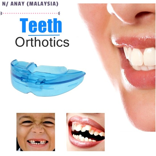 N/ANAY-S: ALAT SUSUN GIGI CANTIK/Orthodontic Trainer Dental Tooth Appliance Alignment Brace Mouth Pieces