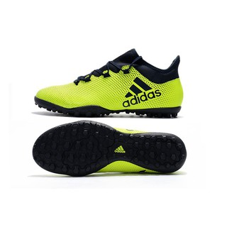 bf23ca950 adidas X Tango 17.3 TF yellow black mens sport soccer football mesh knit  shoes