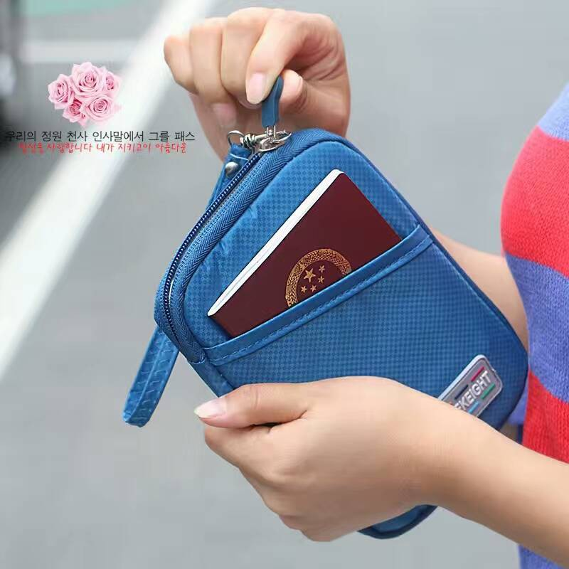Large Passport/hp/travel Pouch/ Card Wallet