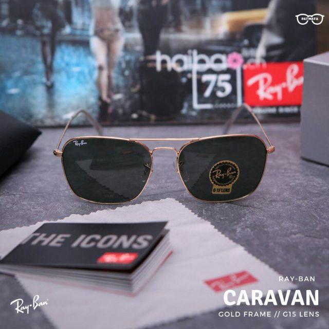 e958f0ae18e22 RayBan Caravan Square RB3557 001 Original