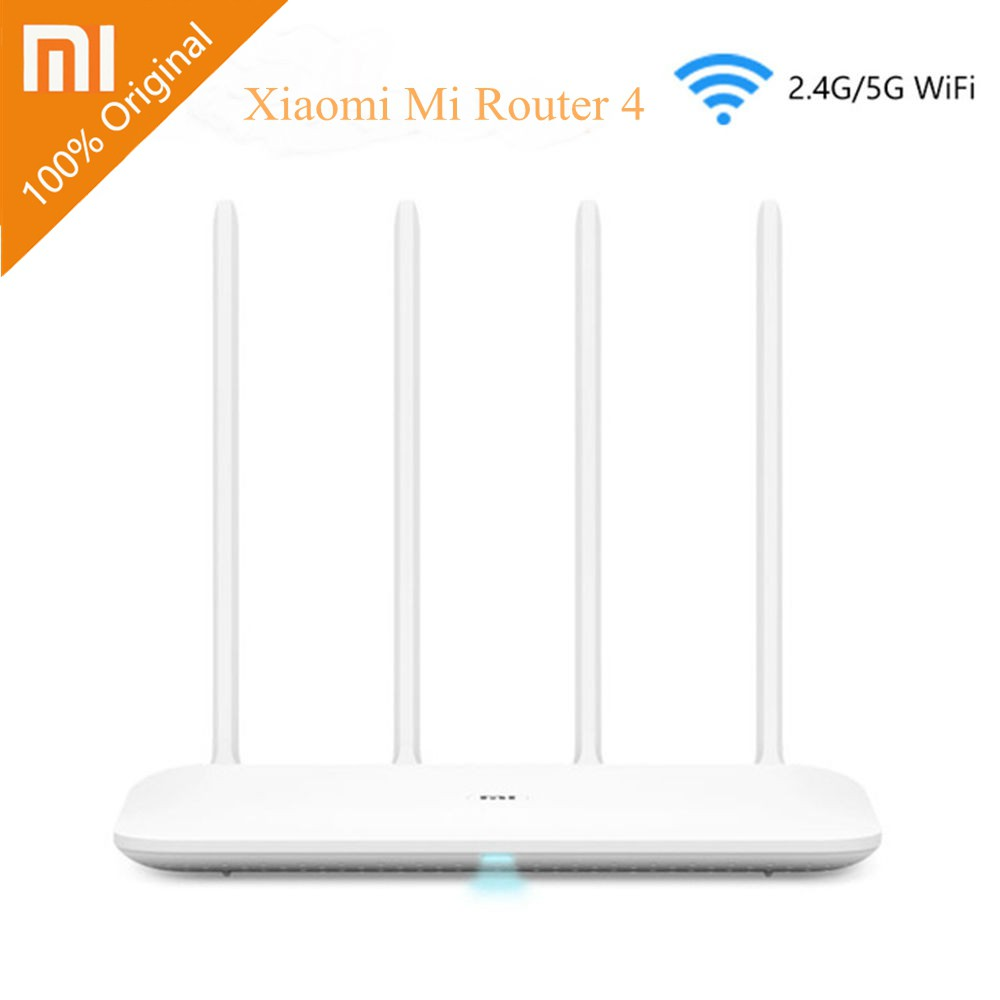 Xiaomi Mi WiFi Router 4 WiFi Repeater 2 4G 5GHz 128MB APP Wireless Router