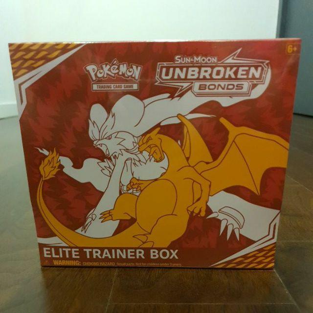 Pokemon TCG Unbroken Bonds ETB Elite Trainer Box Sleeves 65 Count