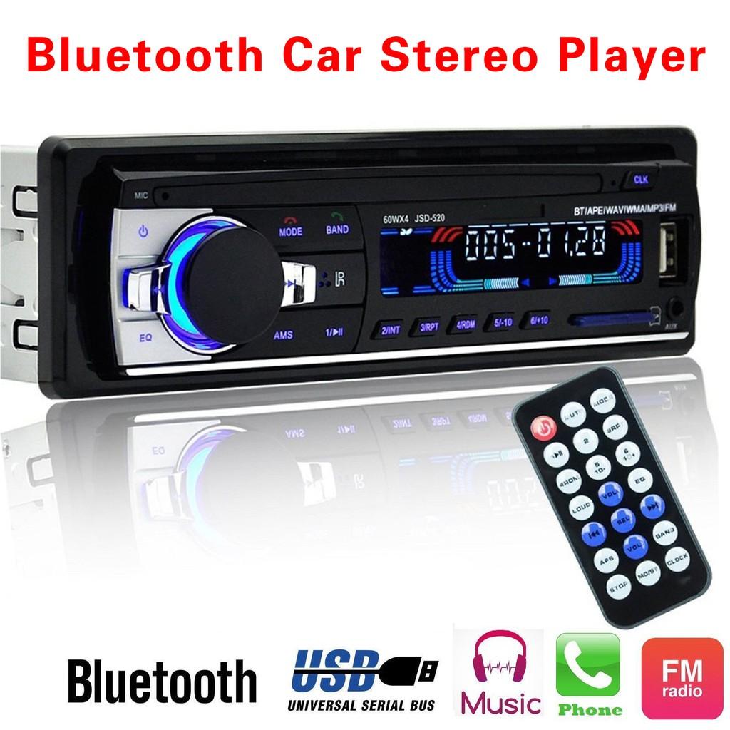 Car Bluetooth Radio Stereo Head Unit Player MP3/USB/SD/AUX-IN/FM Car QMTL