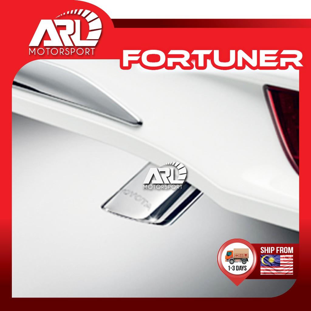 [Original] Toyota Fortuner (2016 - 2020) 2nd Gen Muffler Cutter With Logo Toyota Car Auto Acccessories ARL Motorsport