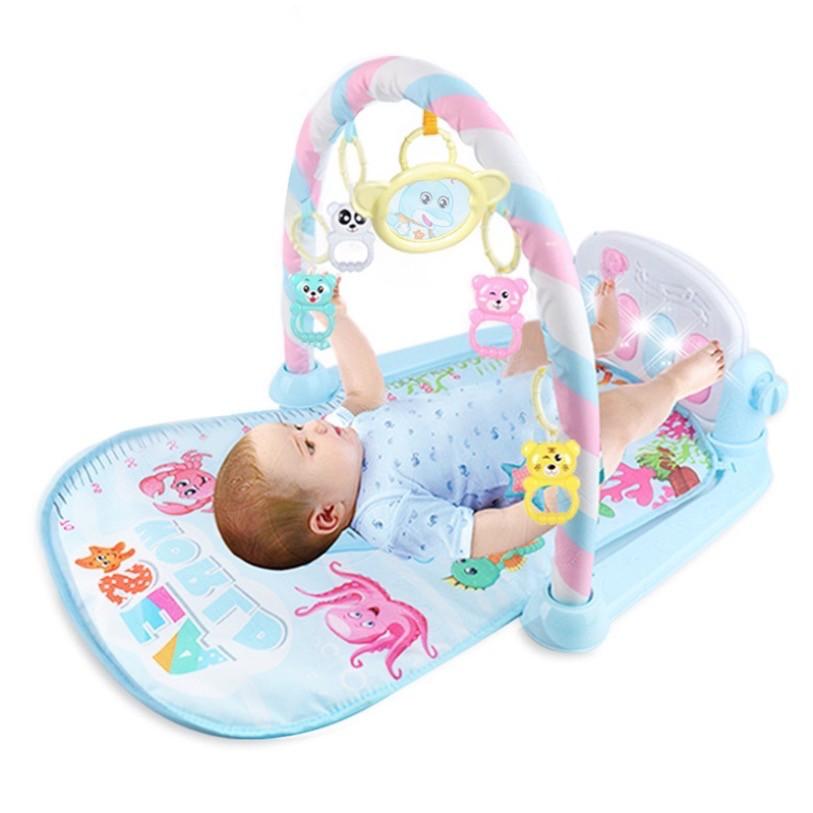 JK Home Premium Quality Baby Toys Colourful Musical Play Gym Playgym Mat Playmat Tikar Bayi Mainan