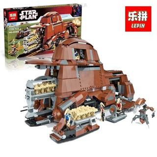 Le pin 05069 Star Wars 1338Pcs Trade Federation MTT can use