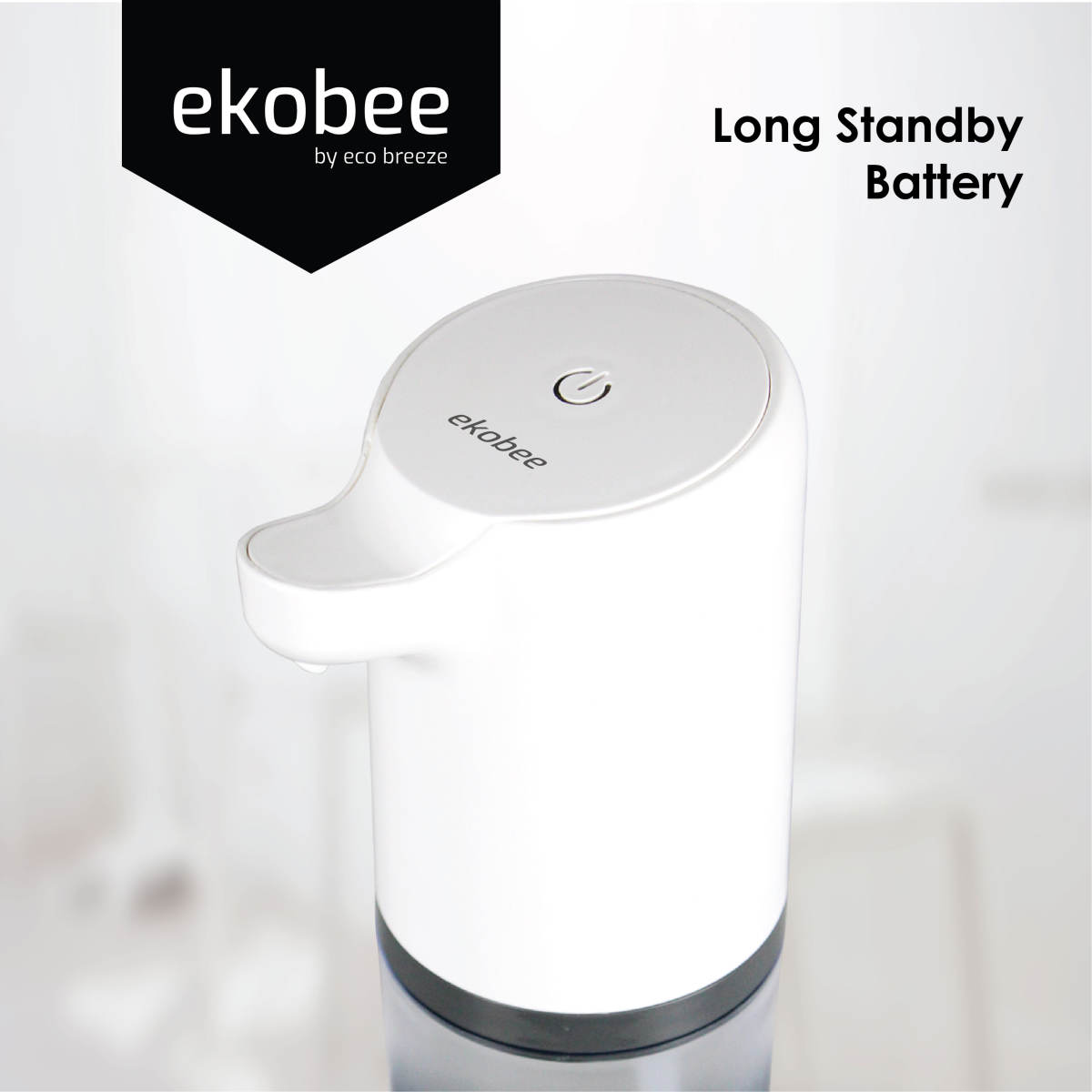 [Local] Automatic Contactless Foaming Dispenser with Infrared Motion Activated Sensor - Dishwasher, Shampoo or Soap