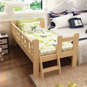 Jha231 Wooden Baby Bed Baby Cot Attached To Parents Bed Shopee Malaysia
