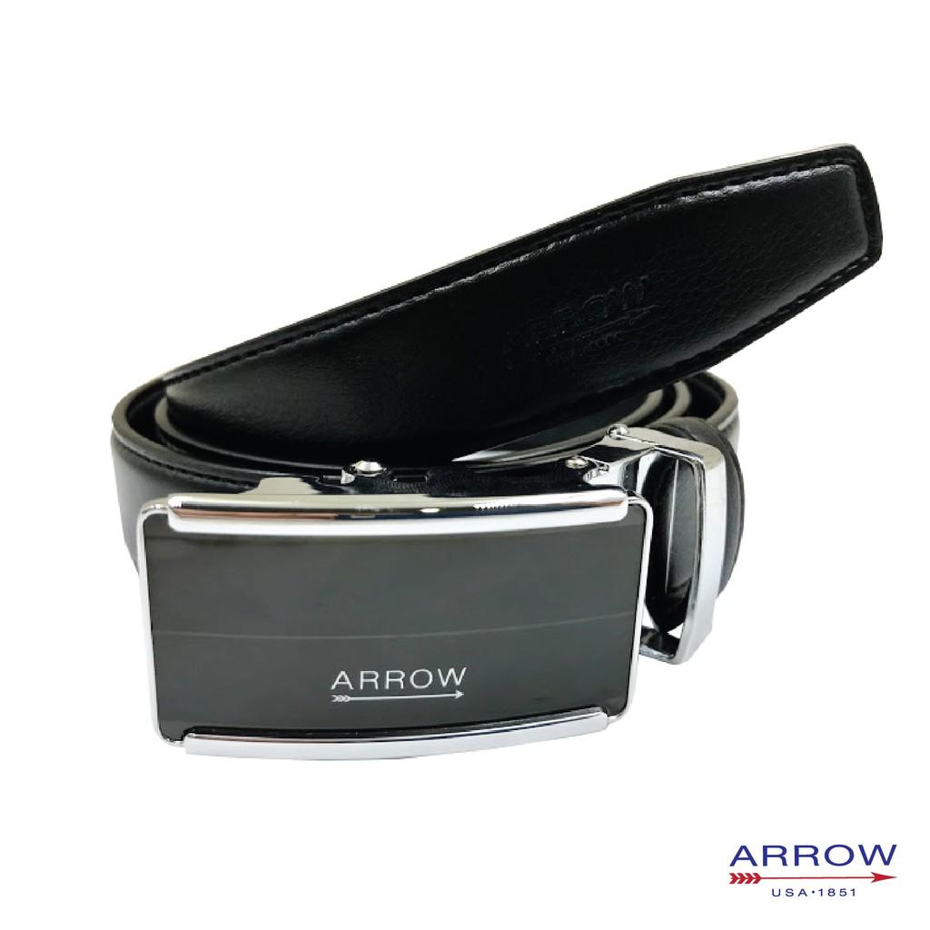 ARROW Male Synthetic leather strap luxury Fully adjustable autobuckle casual men Belt