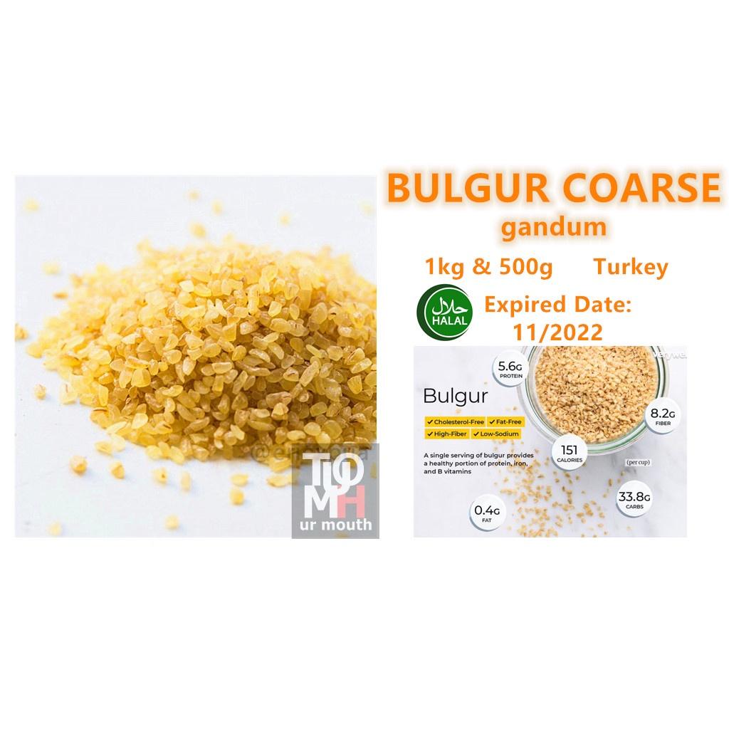 Bulgur Coarse / Gandum / 小麦 1kg