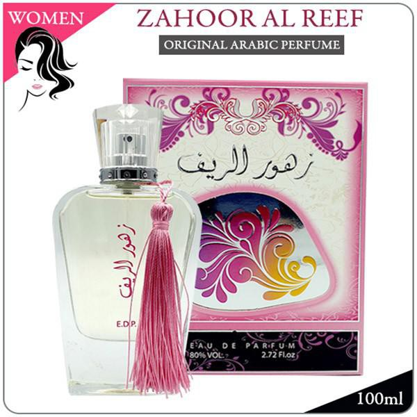 ZAHOOR AL REEF - ORIGINAL ARABIC PERFUME EDP BY ARD AL ZAAFARAN DUBAI FOR WOMEN FLORAL SCENT FRAGRANCE (READY STOCK)
