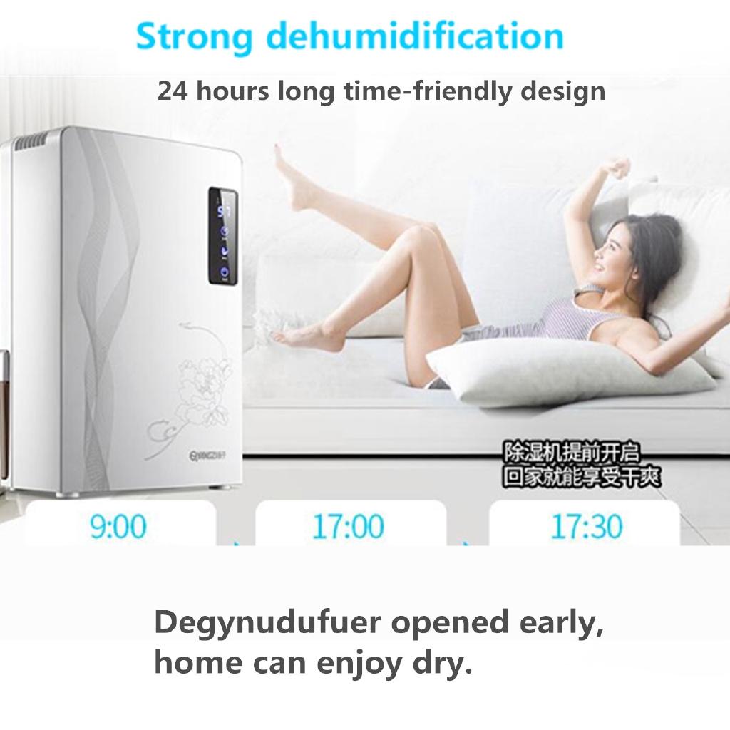 2200ml Mini Home Office Air Dryer Electric Desiccant Compact Damp Dehumidifier