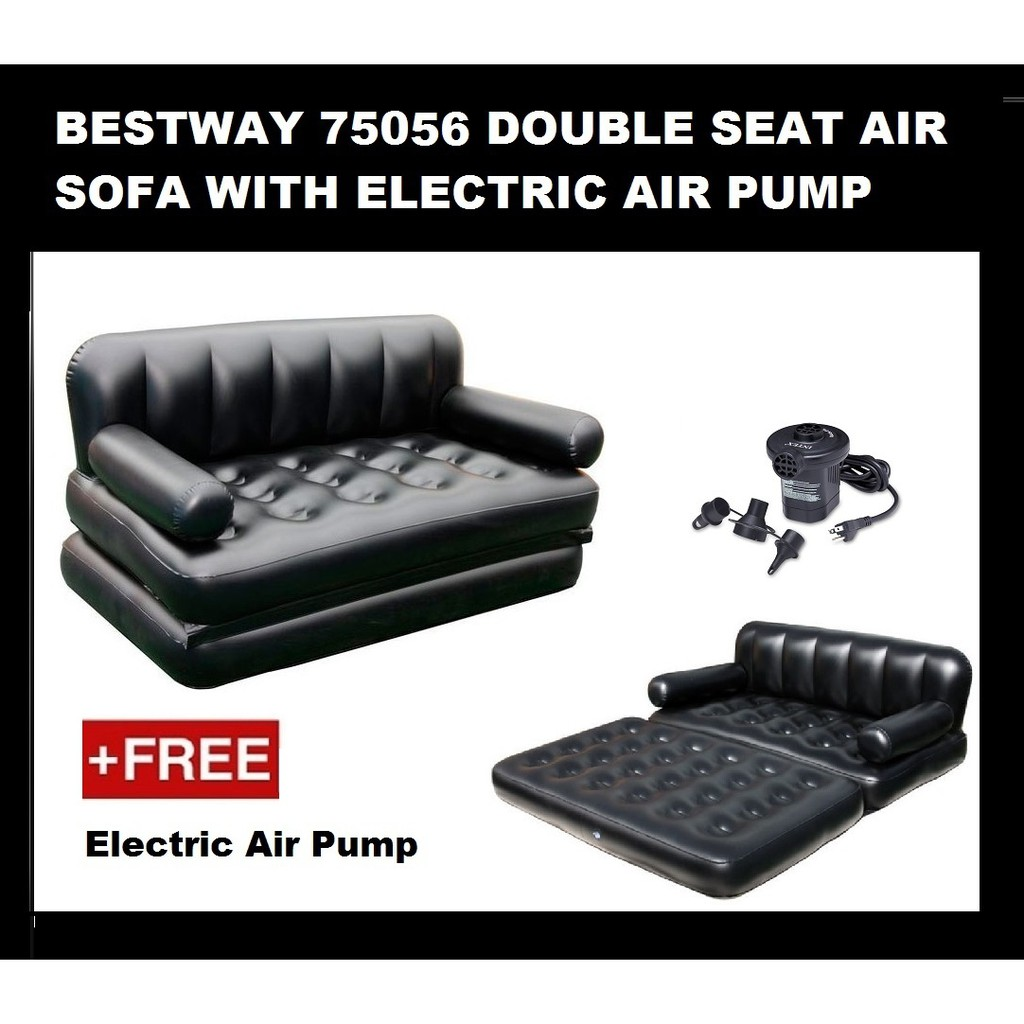 Ready Stock Bestway 5 In1 Inflatable Air Sofa Bed Mattress