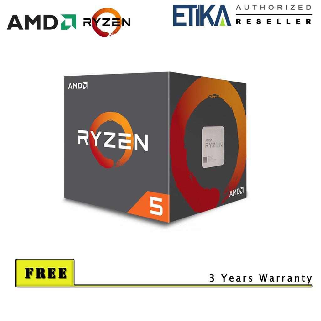 AMD Ryzen 5 1600 6-Core 3 2GHz Processor (3 6GHz Turbo)