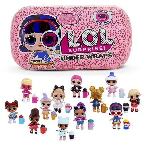 L O L  Surprise! Under Wraps Doll- Series Eye Spy 1A Lol Tots Innovation  Doll