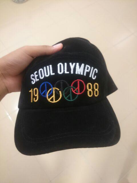 159460c82e1 G-dragon   Taeyang Seoul Olympic 1988 Baseball Cap