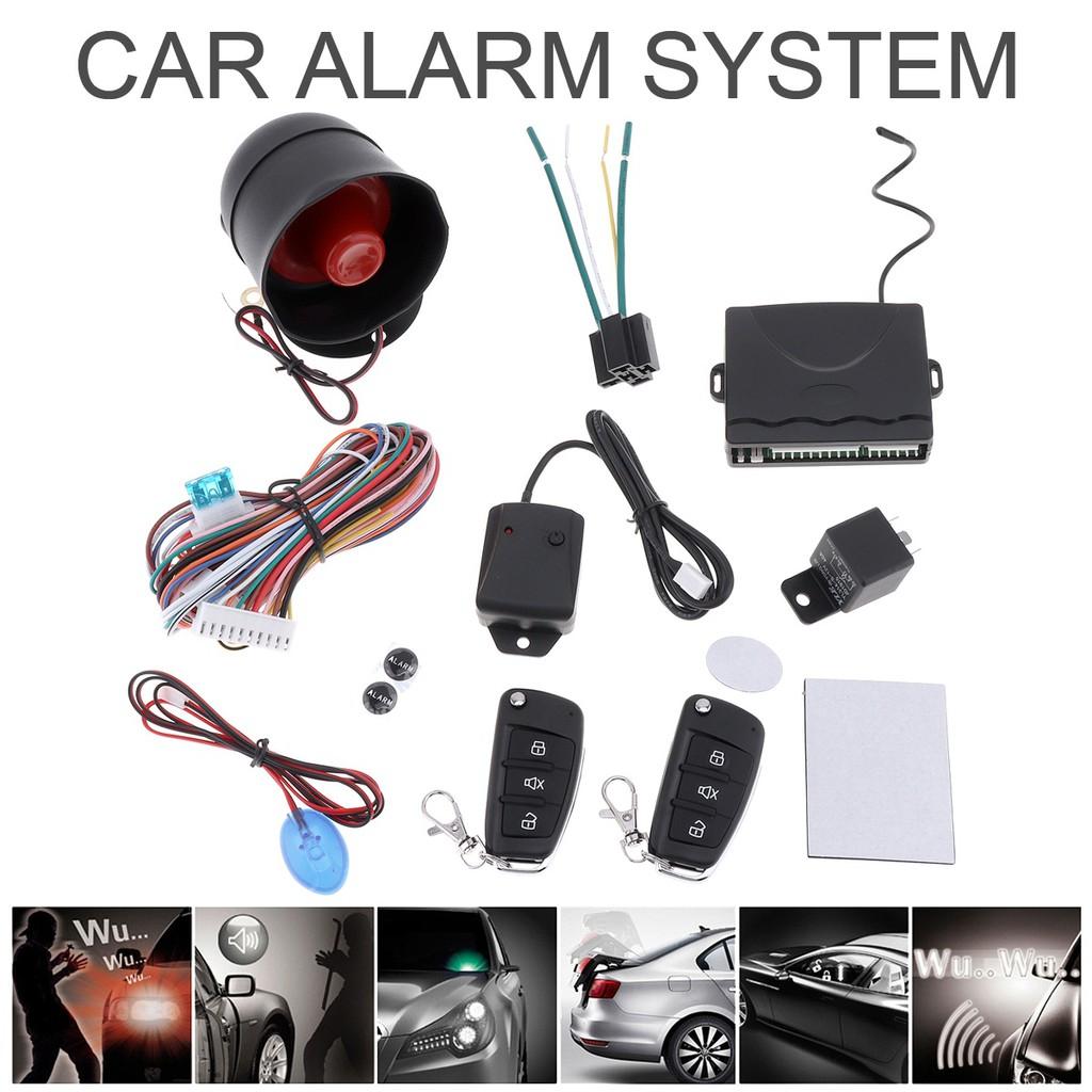 Anti-Thief 12V Auto Car Alarm Keyless Entry System