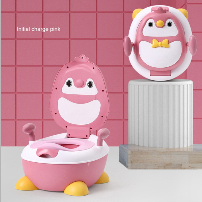 [ READY STOCK ]  Baby Potty Cute Pumpkin Cartoon Training Toilet Bowl Portable Urinal Potty Kid Jualan Murah Simpanan Pot