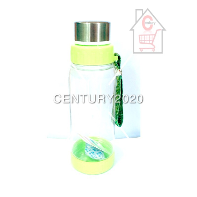 RIMEI Sports Water Bottle Travel Bottle Double Mouth Leak Proof With Strap And Filter Outdoor 680ml