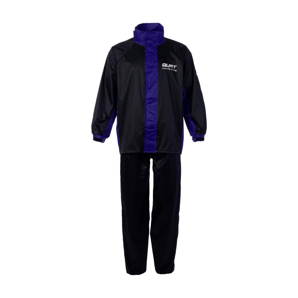 Raincoat QUAT Rain-Suit Q21 BLUE Motorcycle (Shirt+Pants)