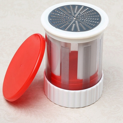 Cheese Grater Butter Baking Tools For Kitchen Clever Cutter Innovations (RED)