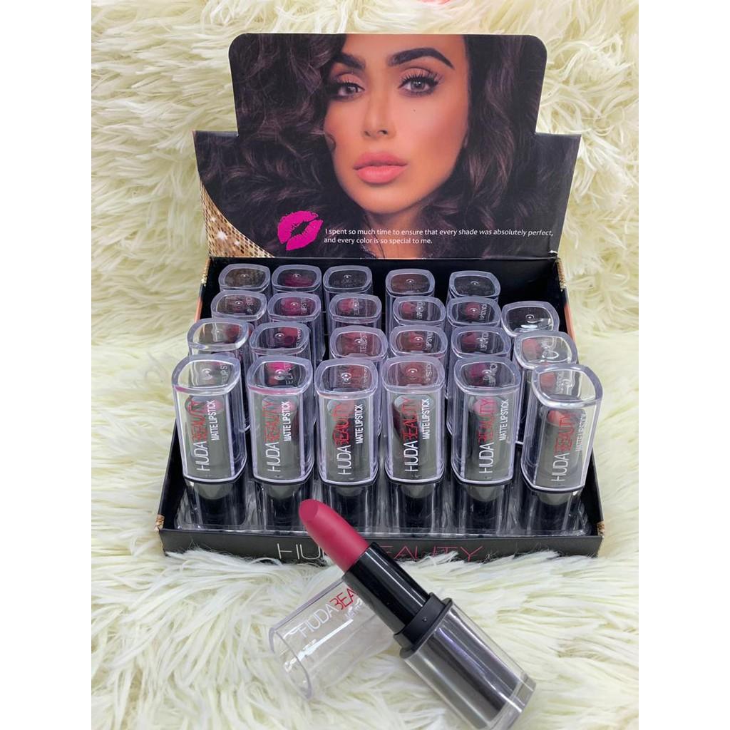 Huda Matte Lipstick Box 24 in 1