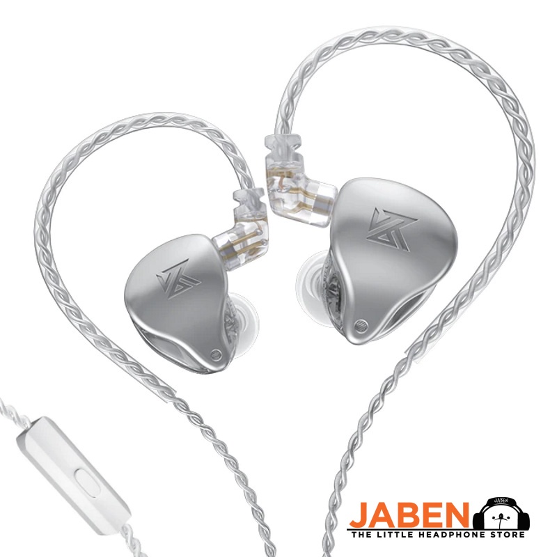 KZ AST Hi-Res 12BA Config Detachable 0.75mm 2-Pin IEM Wired In-Ear Earphones [Jaben]