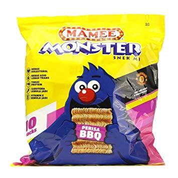 Mamee Monster Family Pack 25G x 8'S