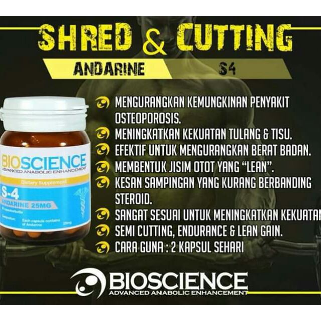 SARMS Androgen Pharma Andarine (S-4) *Liquid* | Shopee Malaysia