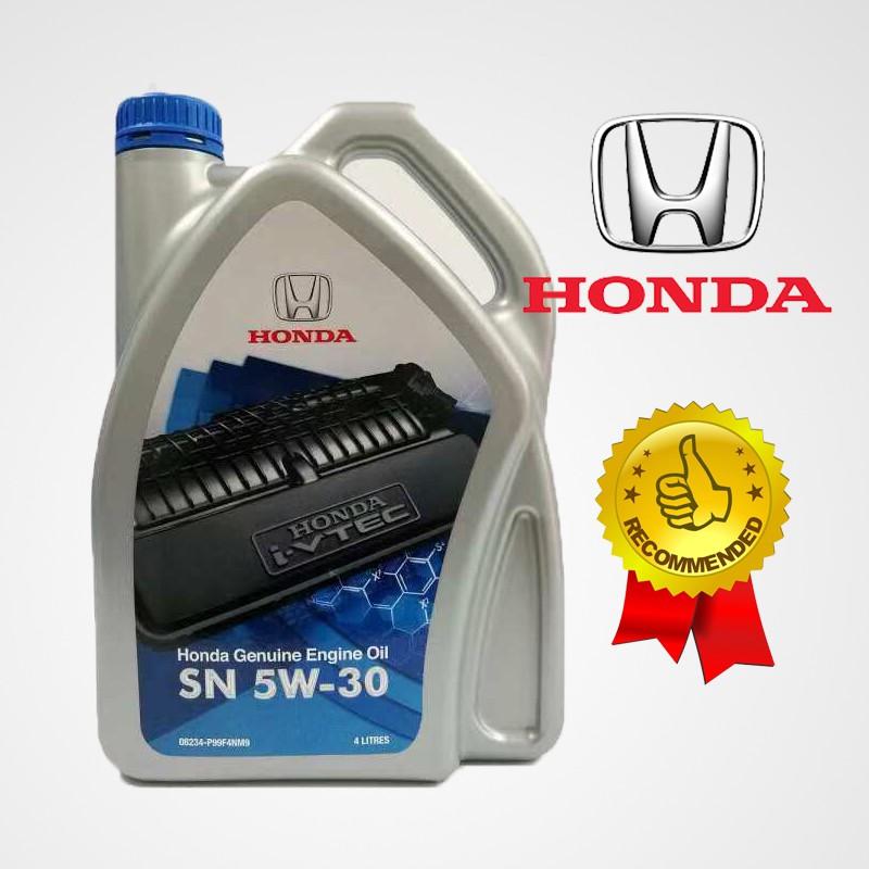 HONDA SEMI SYNTHETIC ENGINE OIL 5W-30 (4 LITER)