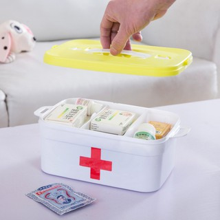 IB⊙Medicine Box Pill Box Travel Pill Case Portable first aid kit