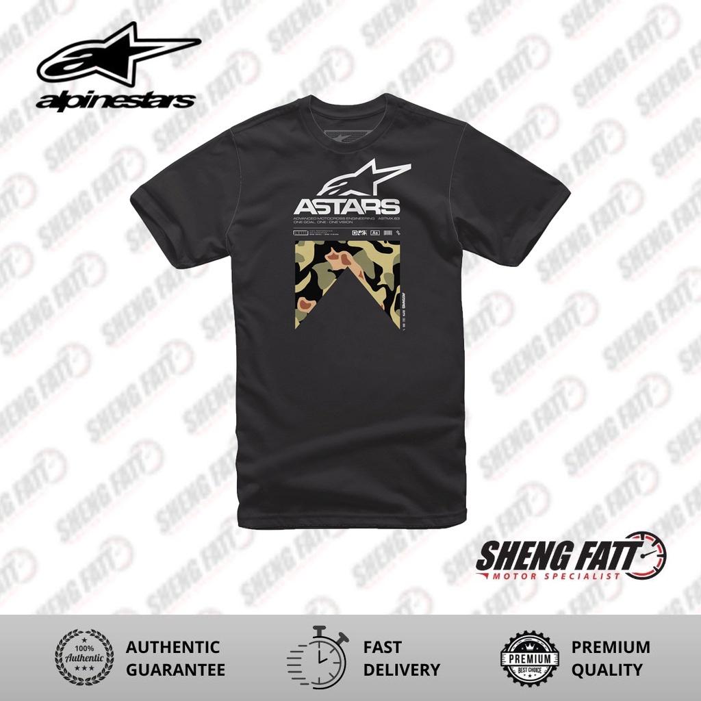 Alpinestars Tactical Tee Casual Unisex T-shirt (Black)