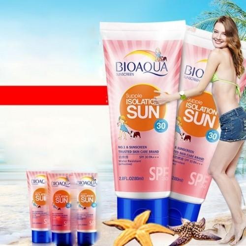Bioaqua Waterproof Sunscreen 80ml
