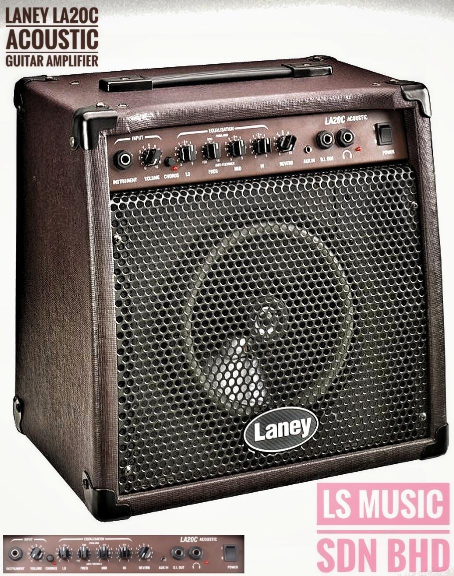 Laney LA20C Acoustic Guitar Amplifier Music Instrument Gitar