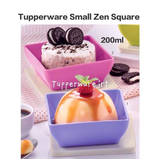 Tupperware Zen Square Small 200ml x 1pc