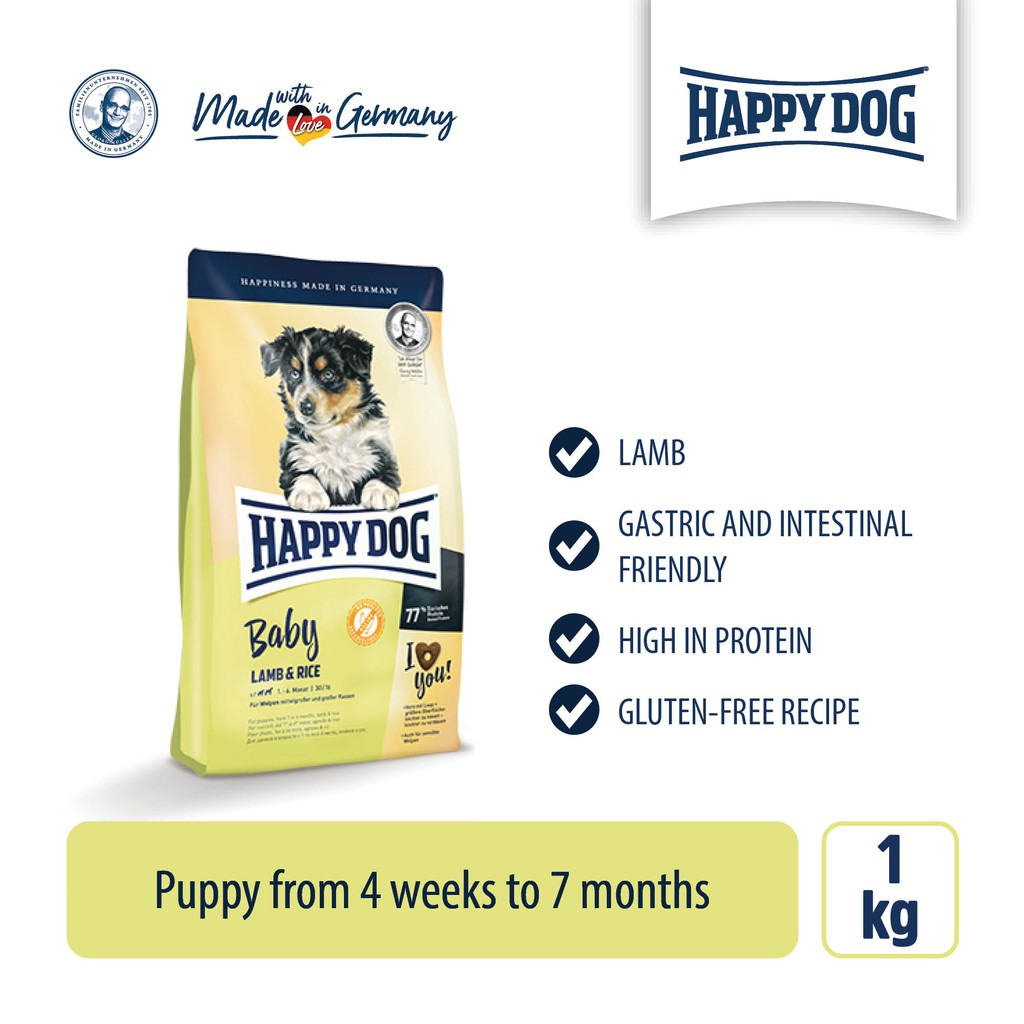 Happy Dog Baby Lamb & Rice (1kg)
