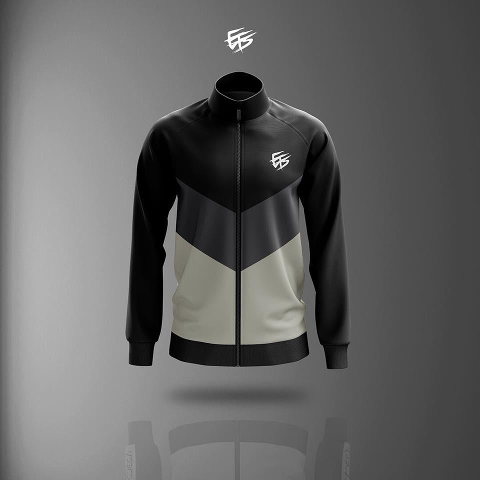 EFS Sweater Black Grey Original