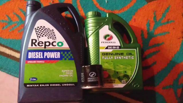 REPCO DIESEL POWER SAE 20W-50 API CF/SF 5LITER | Shopee Malaysia