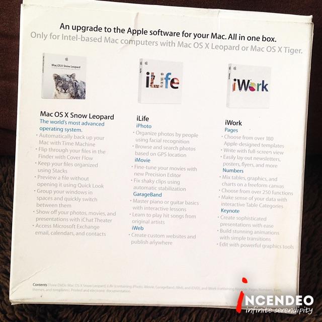 Original Apple Mac Box Set MacOS iLife iWork CD Pack