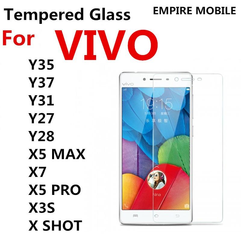 VIVO Y35 Y37 Y31 Y27 Y28 X5 MAX X7 X5 PRO X3S X SHOT HD TEMPERED GLASS SP