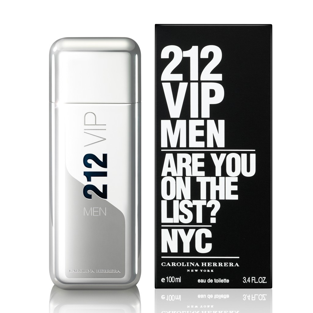 212 Vip Men Are You On The List Nyc By Carolina Herrera For Men Edt