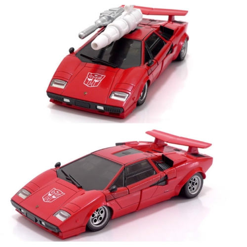 Takara Transformers Masterpiece MP-12T Sideswipe Lamborghini  Figures Car Toy