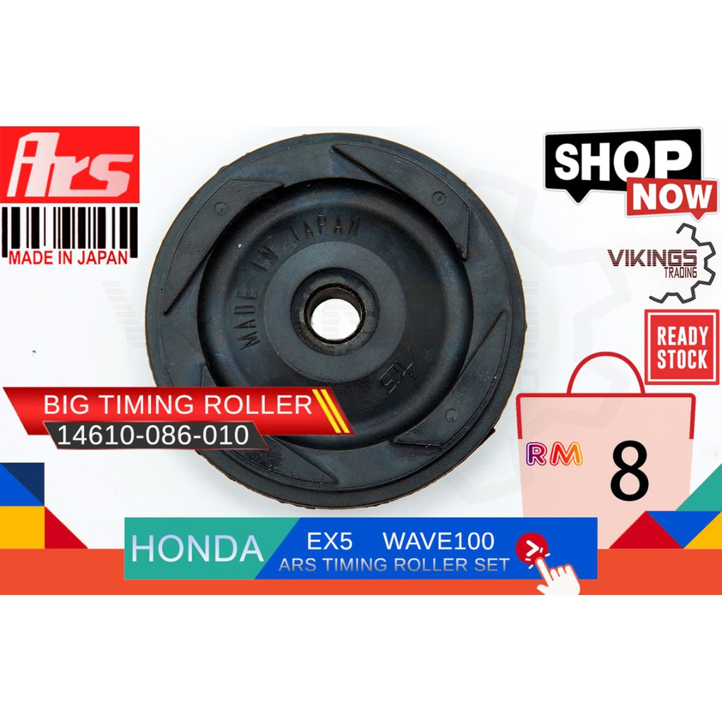 DREAM EX5 WAVE100 WAVE100-R TIMING ROLLER KIT SET JAPAN ARS HONDA ENGINE PART OIL SEAL