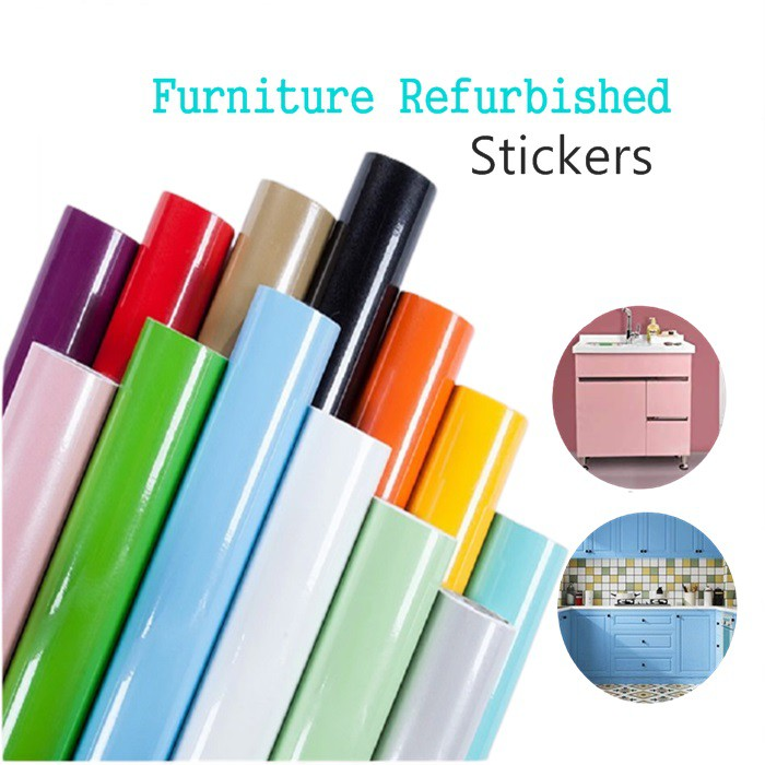 Removable Self Adhesive Oil Proof Wallpaper Kitchen Decor Cabinets 60cmX3meter
