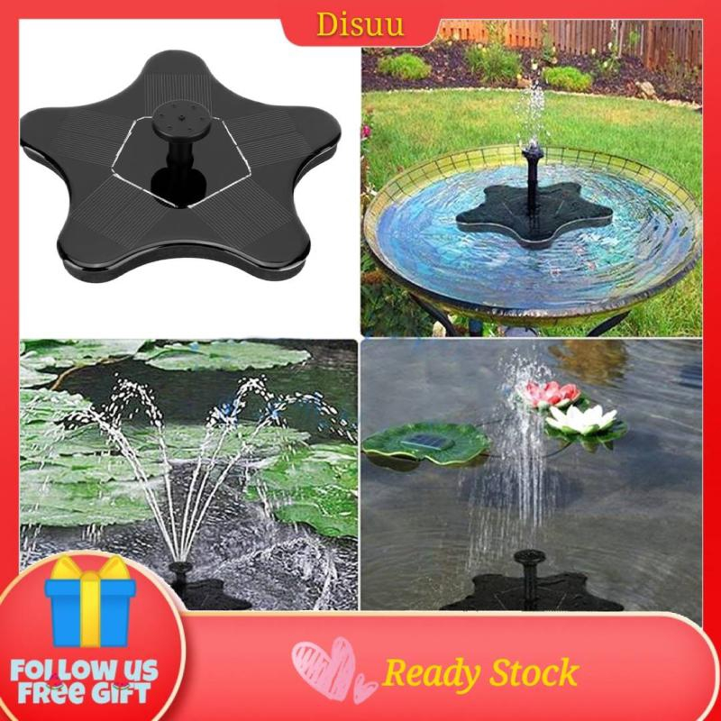 Mini Small Submersible Water Fall Feature Pond Birdbath Fountain Pump
