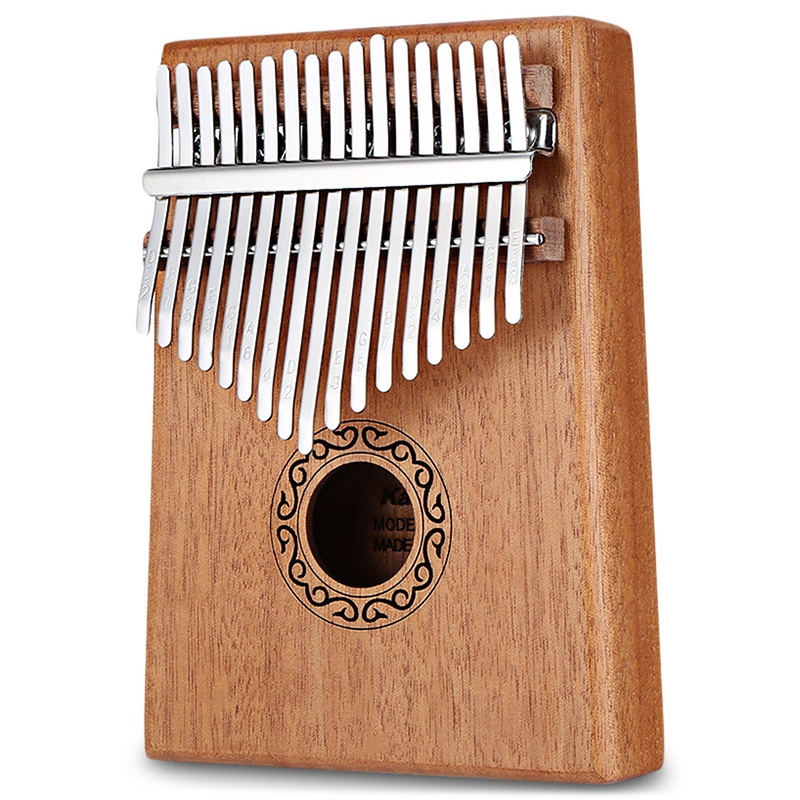 17 Tone Wooden Kalimba Thumb Piano Portable Finger Musical instrument