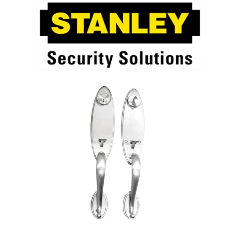 STANLEY PREMIUM SERIES S9181SS DOUBLE HANDLE ( 6 MONTH WARRANTY )ENTRANCE HANDLE SET